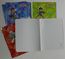 BEYBLADE ☆ LOT 5 CAHIERS ECOLE QUICK
