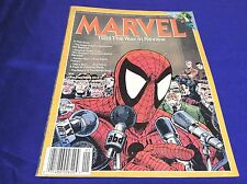 MARVEL 1989 The YEAR IN REVIEW MAGAZINE (SPIDERMAN/MCFARLANE/1015132) LOT OF 1