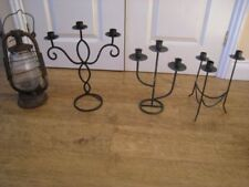 Shabby Chic Lamp Metal Candle & Tea Light Holders