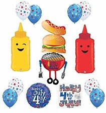 4th of July Patriotic BBQ Party Balloon decorations