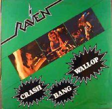 "Raven- (NWOBHM)- 12"" Maroon Marble - Crash Bang Wallop- NEAT 15 (1982) UNPLAYED"
