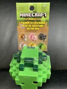 Minecraft Spawn Egg Mini Figure GREEN SPAWN EGG ~ FREE USA SHIPPING!