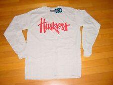 University NEBRASKA HUSKERS Cornhuskers long sleeve T-Shirt NEW TAG . XLarge  XL