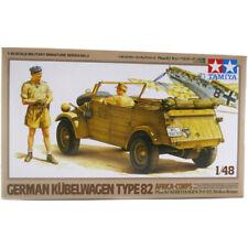Tamiya Kübelwagen Type 82 Africa-Corps German Truck Model Kit - Scale 1:48