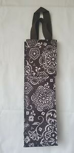 Thirty-One Wine Bottle Thermal Bag Brown