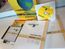 Rosetta Stone Japanese Level Two