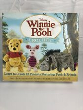 Disney Winnie The Pooh Crochet Kit 12 Projects Pooh & Friends Pooh & Piglet