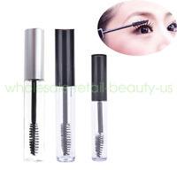 Wholesale 5ml 10ml Empty PET Eyelash Tube Brush Mascara Bottles Containers Vial