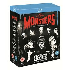 Universal Classic Monsters : The Essential Collection - Box Set - New Blu-Ray