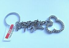 Official Disney World MICKEY Mouse Crystal Charm Chain Key Ring Bag Key Chain