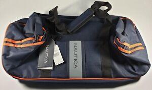 CLEARANCE New Authentic Nautica Gennaker Dual Stripe Duffle Bag Sale