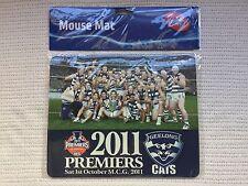 Geelong Cats AFL premiers 2011 mouse mat