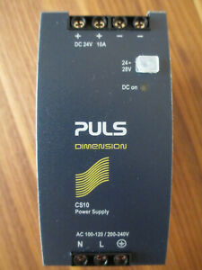 PULS DIMENSION CS10.242-C1 Hutschienen-Netzteil 240V/AC-24 V/DC 10A