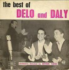 "Delo and Daly Comedy Duo Australian TV 1960s 7"" 45rpm Record Cover only"