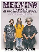 MELVINS/SPOTLIGHTS 2017 PORTLAND CONCERT TOUR POSTER-Experimental/Alt Rock Music