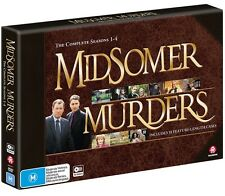 BRAND NEW Midsomer Murders : Seasons 1-4 (DVD, 2017, 10-Disc Set) *PREORDER R4