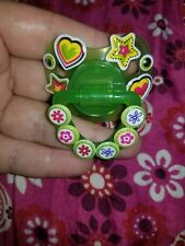 Green Decorated Pacifier For Adult Flower star Baby Shield Orthodontic Teat ddlg