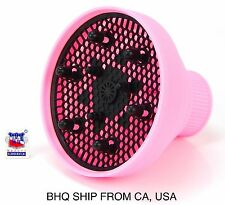 Hair Dryer Silicone Folding Diffuser (Pink)