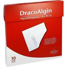 DRACOALGIN 10x10 cm Alginat Wundauflage 10 St