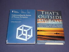 Teaching Co Great Courses DVDs   UNDERSTANDING the SECRETS OF HUMAN PERCEPTION