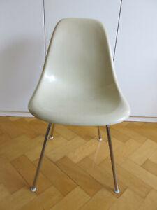 EAMES Side Chair DSX mit H-Base - Herman Miller/Vitra - Fiberglasschale - Nr.4