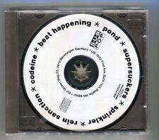 Popkomm PROMO CD sempler 6 tracks Pond/Supersuckers/estintori
