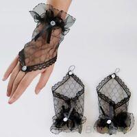 Sexy Lace Handschoenen Wrist Fingerless Accessory Women Gloves Short Party
