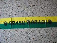 d5 sciarpa BRASILE football federation association scarf schal bufanda brasil