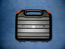 NEW Black Decker Hard Drill Case Cordless & Corded 9.6 12 14.4 18 24 V volt