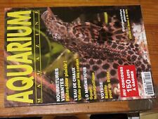 $$$ Revue Aquarium magazine N°124 Eau de chauxGoupilBettaGlyptoperichthys