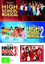 High School Musical 1 2 3 (DVD, 3-Disc Set) NEW
