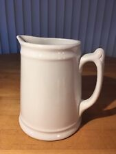 "Antique Royal Ironstone China Pitcher - ""Johnson Bros. England"""