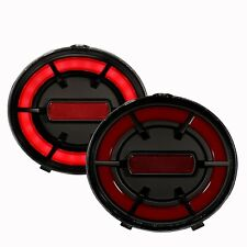 Anzo Tail Lights LED Red/Black G2 For 05-13 Chevy Corvette C6/ 06-13 Z06 #321342