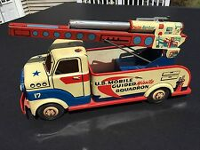 Louis Marx Co. U.S. Mobile Guided Missile Squadron Truck Nice FREE SHIPPING
