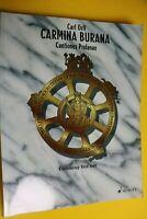 Carl Orff, Carmina Burana, Cantiones Profanae, für Klavier und Gesang