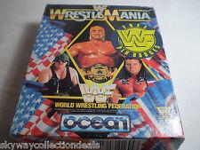 Extra Rare AMSTRAD CPC 6128 GAME DISK - OCEAN - WWF , WWE WRESTLEMANIA- 1991-TOP