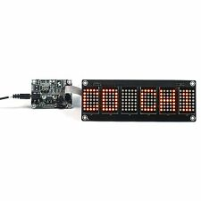 "1.2"" 6 Digit 5X7 Red Dot Matrix Unit Board With Demo Board"