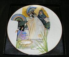 Pharoahs Daughter & Moses Plate Biblical Mothers Nib