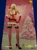 2 pc. Miss Santa Claus Christmas Holiday Leg Avenue Dress Up Sexy Adult Costume