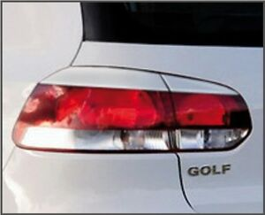 Eyelids eyebrows REAR taillight light brows ABS for MKVI VW Golf GTi MK6