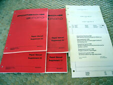 PORSCHE 944 S TURBO WORKSHOP MANUAL SUPPLEMENTS 1986 - 1990 USA EDITION