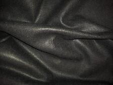 "Plain Acrylic Craft Felt Fabric Black 60""/152cm Wide"