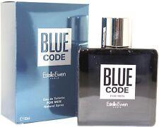 BLUE CODE FOR MEN 3.4 OZ EDT SPRAY BY ESTELLE EWEN & NEW IN A BOX