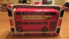 Brand New In Box Fast Wheels Routemaster London Metal Bus