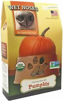 Wet Noses 14oz USDA Certified Organic Pumpkin Wheat Free Human Grade Dog Treats