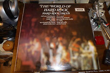"""HARD ROCK CIRCUS """"THE WORLD OF HARD ROCK"""" 1971 SPA R148 LP  VERY GOOD CONDITION"""