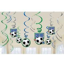 Articoli blu Amscan per feste e occasioni speciali, tema calcio