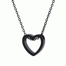 Fashion Necklace Heart Gold Sliver Hollow Simple Jewelry For Women Wedding Gift
