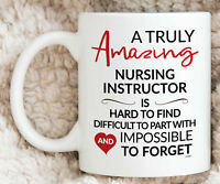 Nursing Instructor Mug For Nursing Instructor Gift Coffee Mug Thank You Leaving