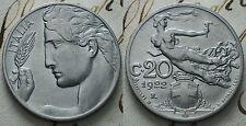 1922  Regno D'Italia  20 centesimi